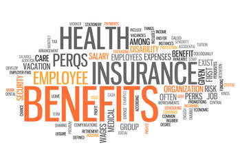 "Word Cloud ""Benefits"""