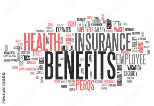"""Word Cloud """"Benefits"""""""