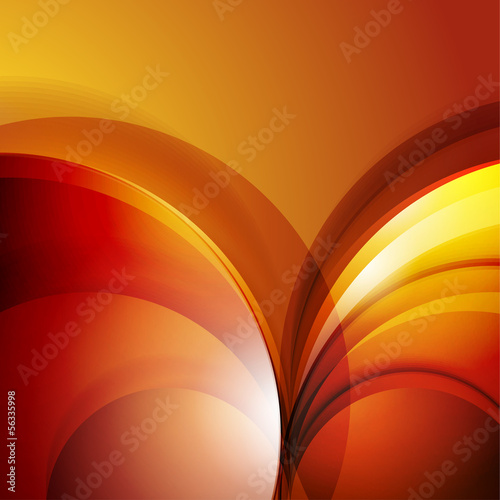 Abstract 3d waves modern business background