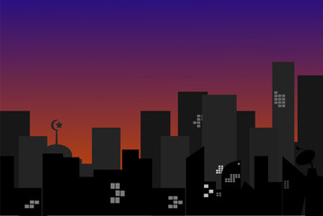 Town Silhouette