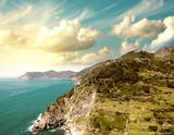 Cinque Terre, Italy. Wonderful landscape in Spring Season