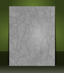 Abstract grunge relief gray paper texture for your poster