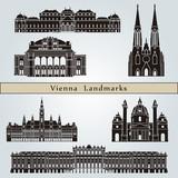 Vienna landmarks and monuments