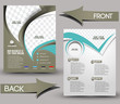 Global Business Front & Back Flyer Template