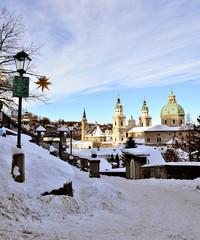 Salzburg in winter time