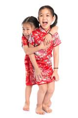 Beautiful oriental Asian girls