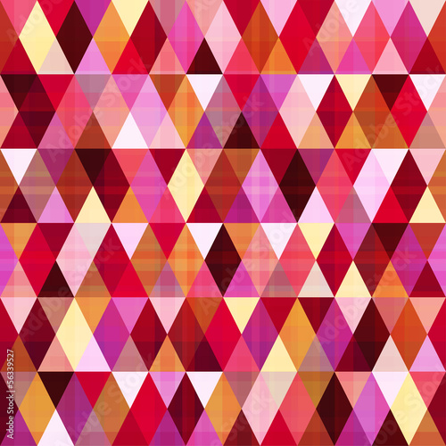 seamless abstract geometric triangle pattern
