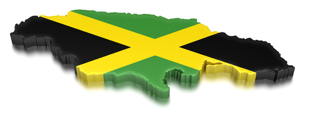 Jamaica (clipping path included)