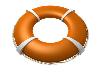 Rescue Lifebuoy Orange