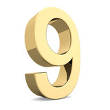 Golden number 9