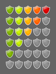 Rating shields