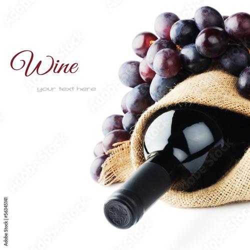 Papiers peints Bar Bottle of red wine