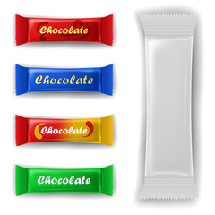 Chocolate bar package set