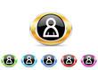 person icon set
