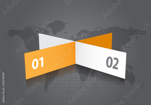 Abstract Label Banners