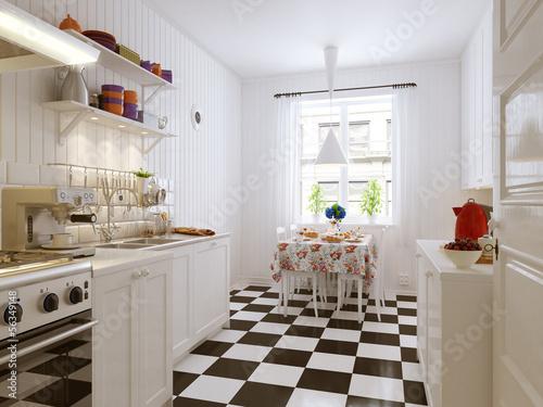 Romatische Küche - ikea style Kitchen