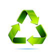 recycling icon isolated