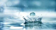 "Постер, картина, фотообои ""Splash water"""