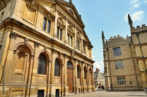 Buildings in Oxford, England