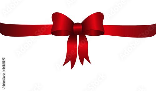 bandschleife, rot, weihnachten, weihnachtsgeschenk, dekoschleife