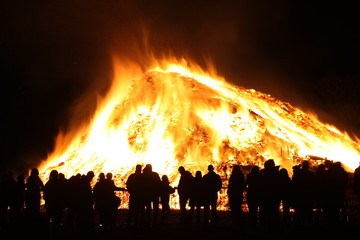 Watching the Bonfire
