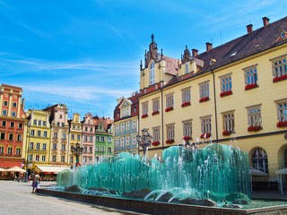 market square, Wroclaw, Poland