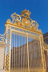 Golden gate at Versailles.