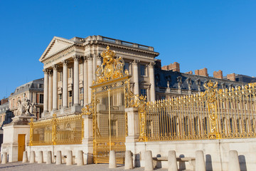 Golden gate at Versailles.