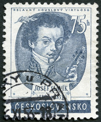 CZECHOSLOVAKIA - 1953: shows Josef Slavik (1806-1833)