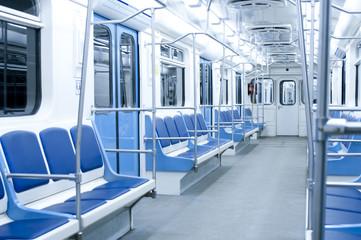 Metro wagon interior