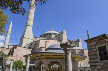 Hagia Sophia Mosque - Istanbul - Turkey