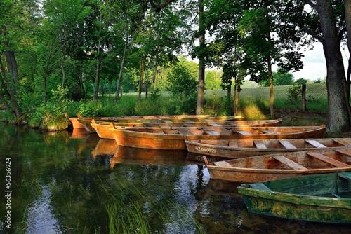Ruderboote auf der Krutynia | Polen - 56356924