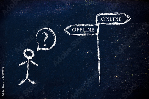 online or offline marketing?