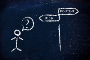 business choices: risky or routine decisions?