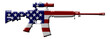 Rifle weapon in the USA