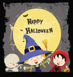 Halloween Kids Card