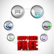 buy one and get one free ecommerce concept