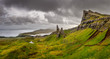Panoramic view of Old man of Storr mountains, Scottish highlands - 56360774