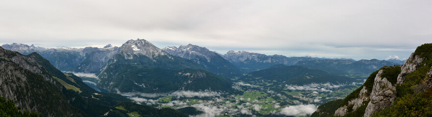 Eagle nest (Kehlsteinhaus) panorama view