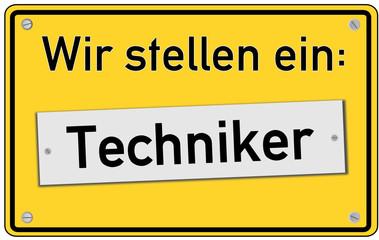 Wir stellen ein Techniker  #130919-svg02