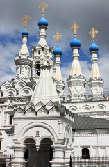 Church of the Nativity of the Theotokos in Moscow, Russia