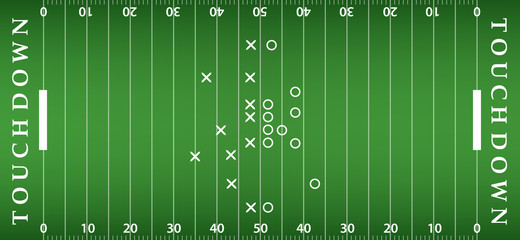 american football field background. soccer field