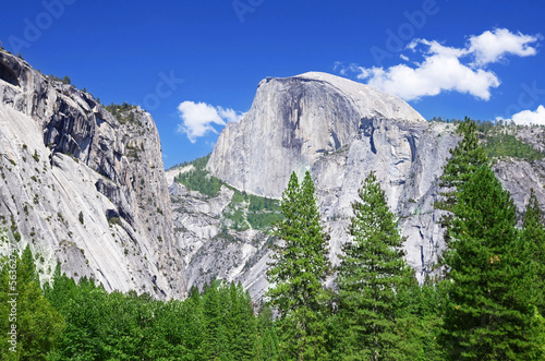 Half Dome, Yosemite national park, California, USA