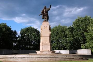 Christopher Columbus in Grant Park, Chicago