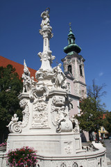 Hainburg an der Donau - baroque column