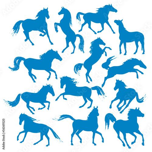 horses-silhouettes
