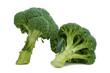 zwei Brokkoli Köpfe