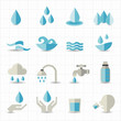 Water related icons - 56371199