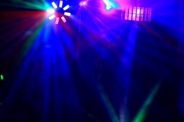 Disco. Laser show.