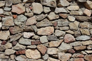 Hintergrund  Mediterrane Steinwand